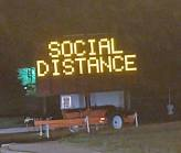 Keep Back Six Feet - Social Distance