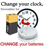 Daylight Saving Time Ends November 1st at 2:00 AM